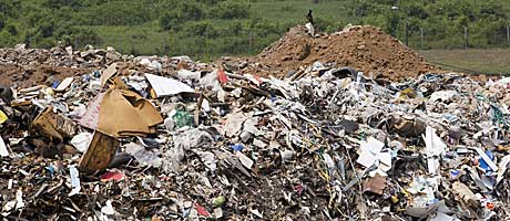 Landfill fine after 'offensive' smells