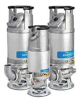 Flygt's 2600 drainage pump series