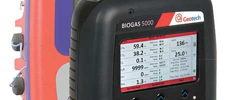 Menu please – the new Geotech Biogas 5000