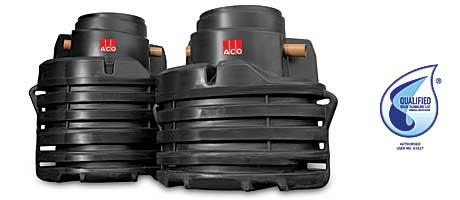 It's approved – New ACO Rain-Ceptor rainwater harvesting tanks