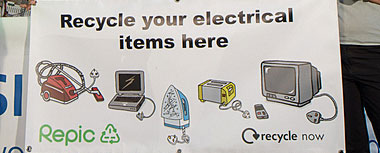 Responsible disposal of electrical goods
