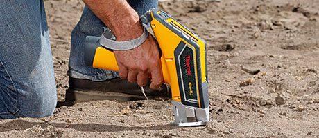 Portable XRF metals analyser