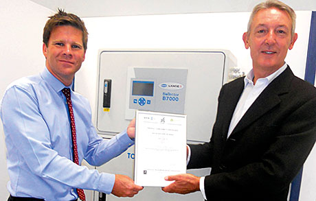 HACH LANGE awarded 200th MCERTS certificate