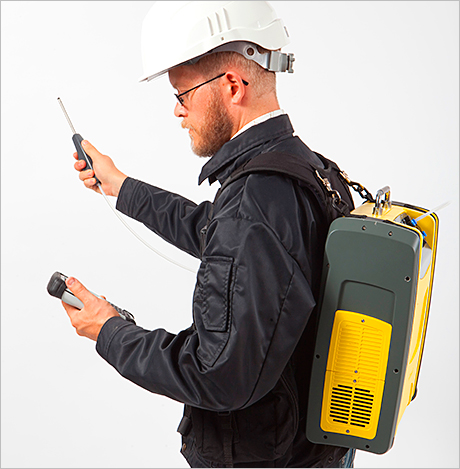 The new analyser kit. Quantitech now has the equipment available for hire.