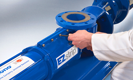The largest EZstrip transfer pump now has a 225m3/h capacity.