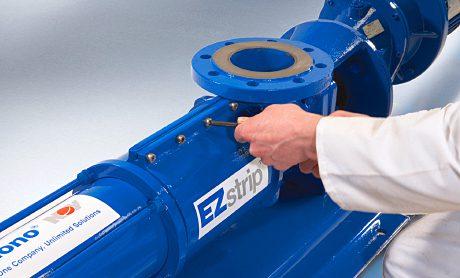 The largest EZstrip transfer pump now has a 225m3/h capacity.