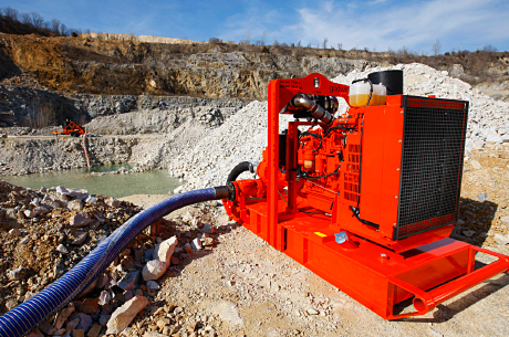 Fire service helps out as mine pumps struggle to cope