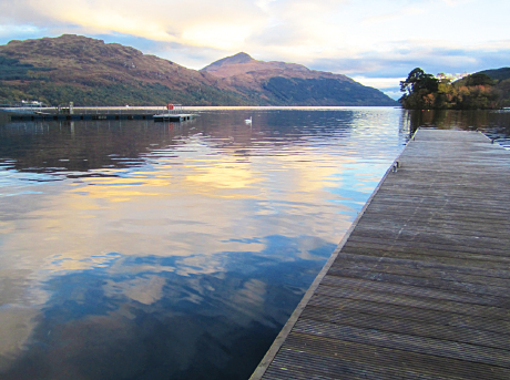 A quarter of the country's loch and rivers are affected by physical change.