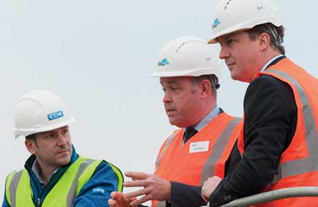 Plant welcomes visit from PM