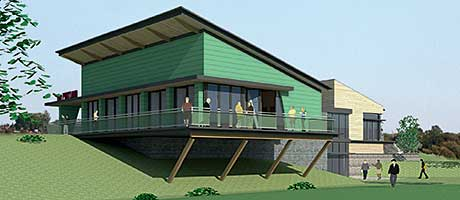 Derelict site gets £25m to go green
