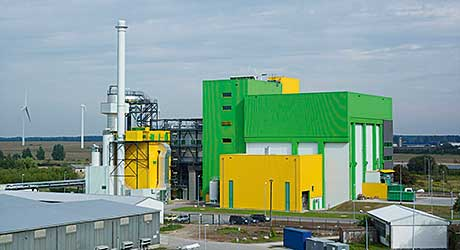 An RDF incinerator is typical of the  push to find new technology.