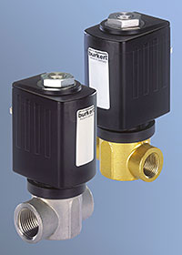 BÜRKERT'S new Type 6027 direct acting range of process solenoid valves is designed for use with neutral gases, fluids, steam, vacuum and slightly aggressive media at pressures up to 135bar and temperatures to +180 degrees C.