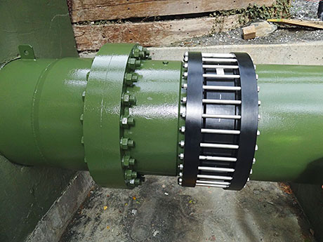 Viking Johnson has supplied a bespoke high pressure large diameter coupling to Swiss hydroelectric power station, KW Dala AG