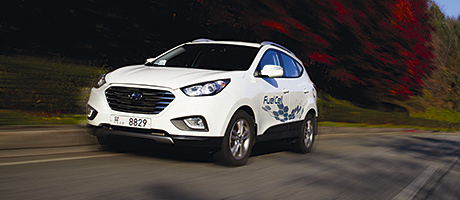 Hyundai hydrogen-powered vehicles arrive
