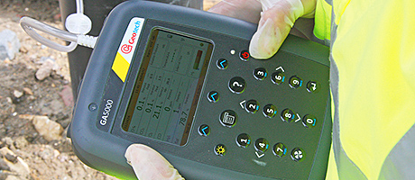 Contaminated land gas analyser aids tsunami clean-up effort