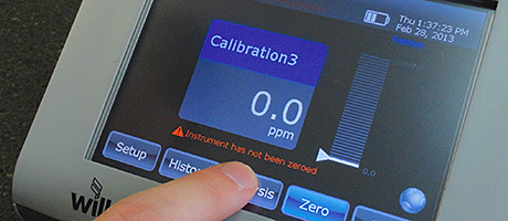 Feature-rich IR analyser now has touch screen