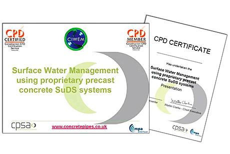 New CPD seminar explains SuDS