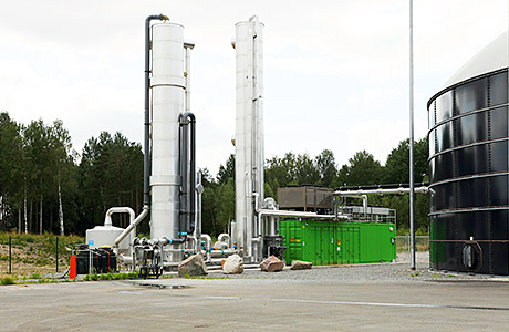 Biogas from food waste: Preparing it for the grid