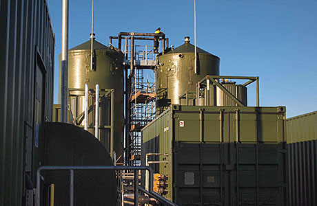Boiler treats oily wastewater
