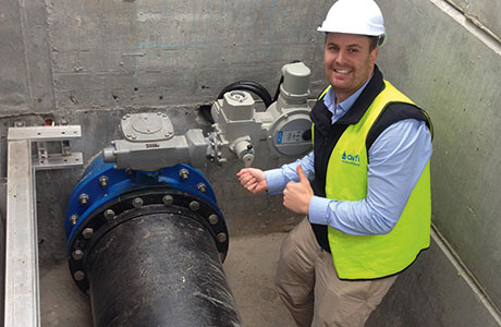 Cost effective reservoir inlet commissions claim