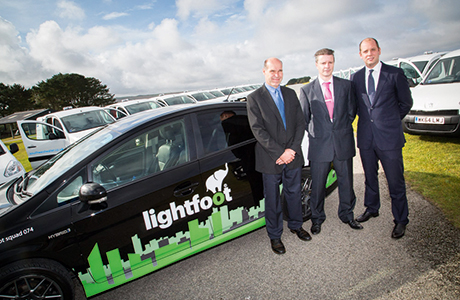 Utility invests in fuel saving system