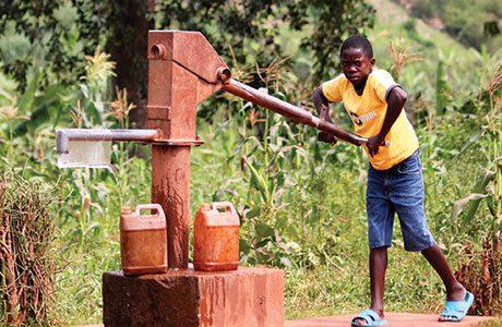 Filter distribution makes impact in Rwanda
