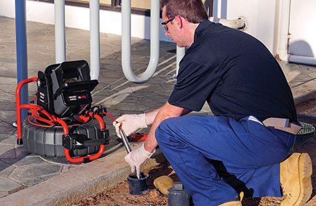 The SeeSnake range is for inspecting small to medium diameter pipelines.