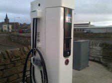 EV charger on Orkney