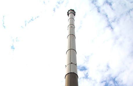 Emissions analyser helps manage power station