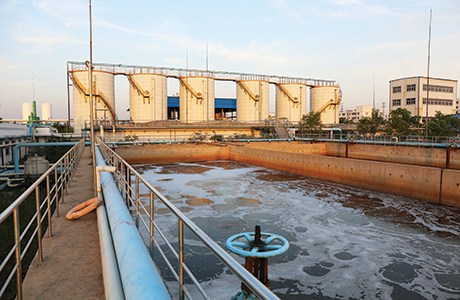 Removing medical residues from wastewater