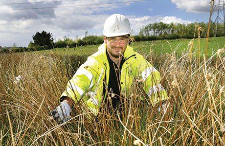 Russell Goodchild of Heritage Environmental.
