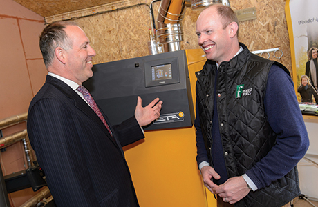 Little known initiative enables school's biomass