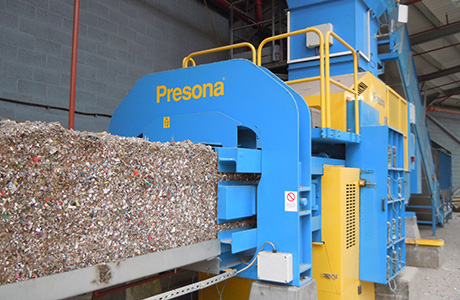 Presona baler in place at Premier Waste