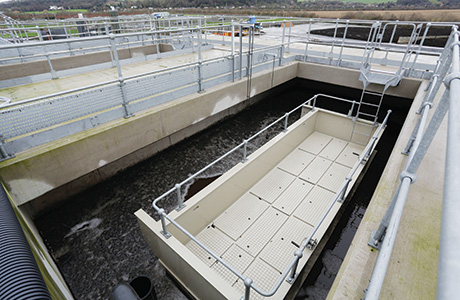 The Biopaq UASBplus reactor to tackle a rendering wastewater stream at Stoke Bardolph produces 3MWh/d of mainly methane biogas.