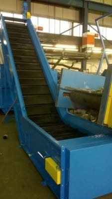 Turnkey conveyor for HDPE plant