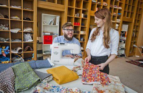Textiles circular design space opens in Edinburgh