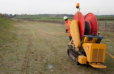 Drainage specialists go the extra half mile – for badgers