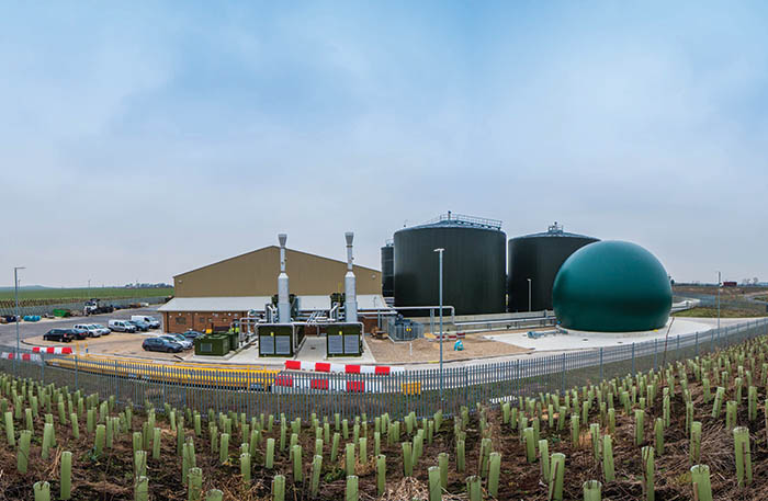 Biogen's Byrgave Lodge AD plant, which benefits from Landia's mixers and pumps.