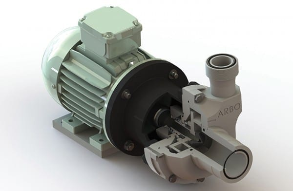 A robust thermoplastic pump range