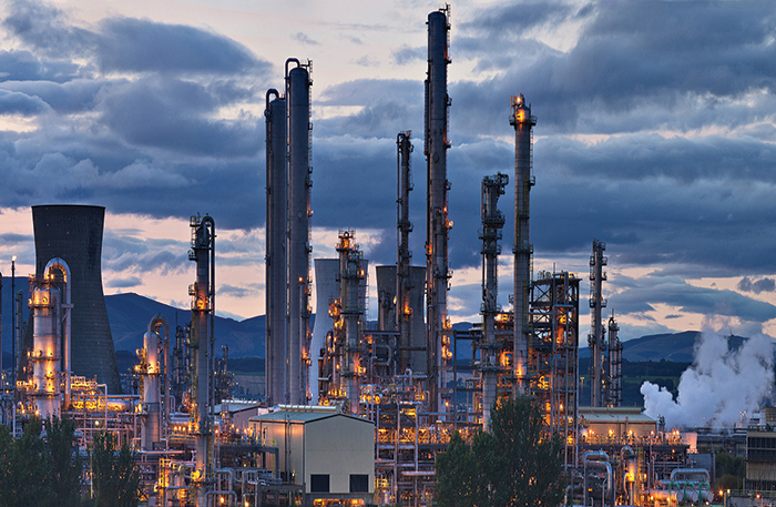 Oil refineries in Grangemouth