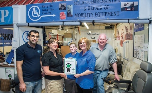 Mobilising repair skills in Clydebank