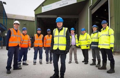 Viridor marks £2 million investment in glass recycling