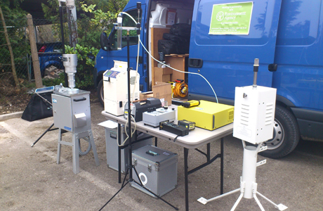 Gas analysers support management of Swindon fire