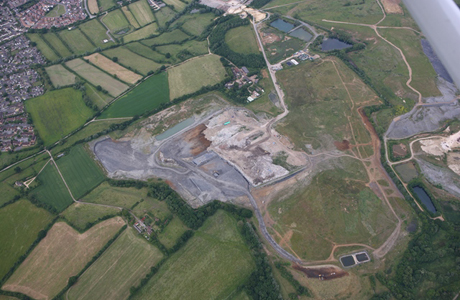 Wiltshire landfill site accepts its last waste