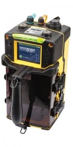 The SPM Flex uses a novel cartridge system to select gases.