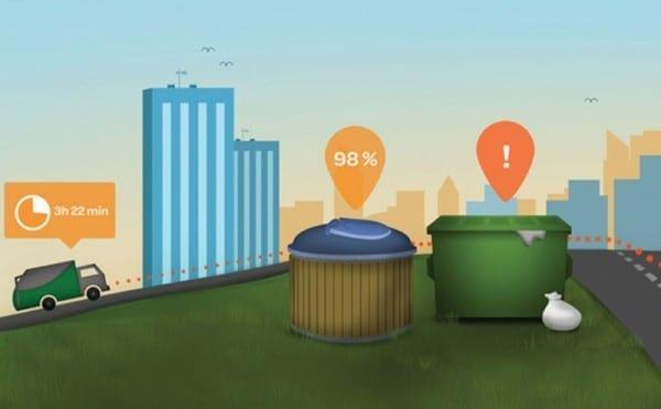 Smart waste collection gets Gartner thumbs up