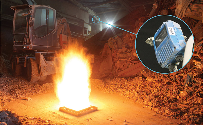 FFE's Talentum flame detectors can detect 99% of fires with a single unit.