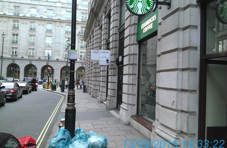 Starbucks fined £160k for leaving rubbish on streets