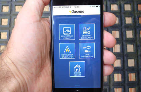 New app for gas monitoring staff