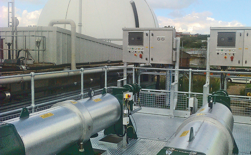 Hydro-Sludge Screen units installed at Cliff Quay for Anglian Water.